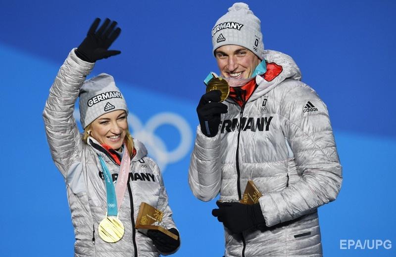 Савченко участвует в пятых Олимпийских играх в карьере, на четырех из них она представляет Германию. Пхенчхан, 15 февраля 2018 года. Фото: EPA