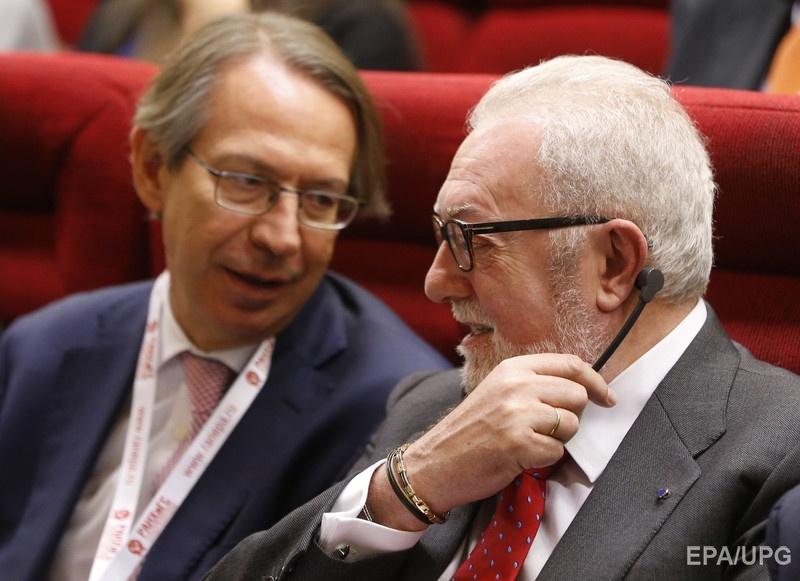Делегатов ПАСЕ возмутило, что Аграмунт (справа) ездил в Сирию с российскими депутатами. Фото: EPA
