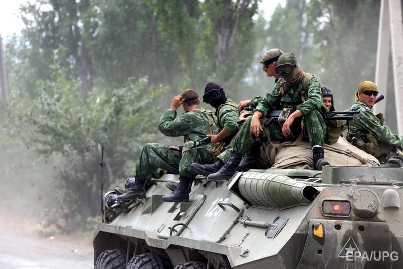 Российские войска в оккупированной Южной Осетии, август 2008 года. Фото: EPA