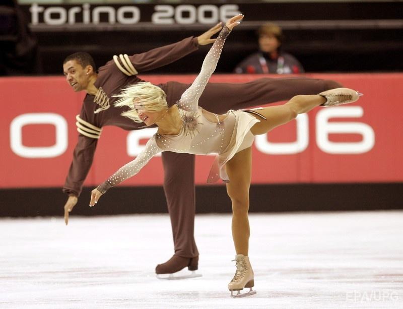 Савченко и Шолковы на Олимпиаде в Турине, 2006 год. Фото: EPA