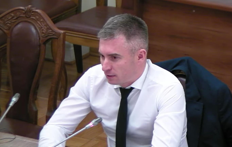 Новиков работает в прокуратуре с 2004 года. Скриншот: КабМин / YouTube