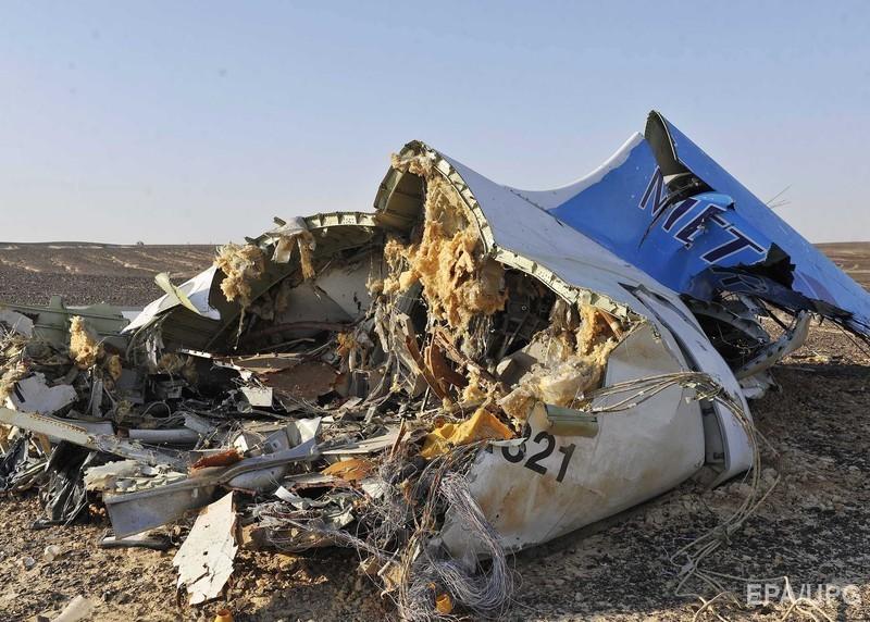 крушение фото самолета в египте