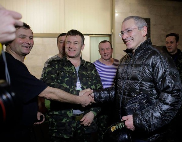 Ходорковский приехал на Украину