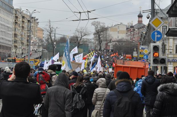 Шествие к проспекту Сахарова