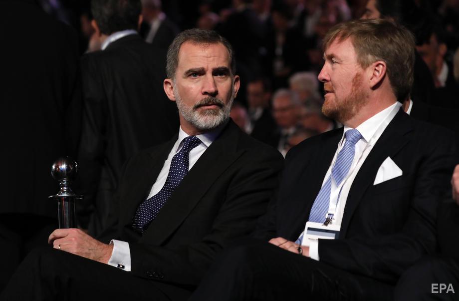 Король Іспанії Феліпе і король Нідерландів Віллем-Александр