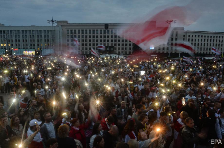 В Беларуси продолжаются оппозиционные митинги. Фоторепортаж / ГОРДОН