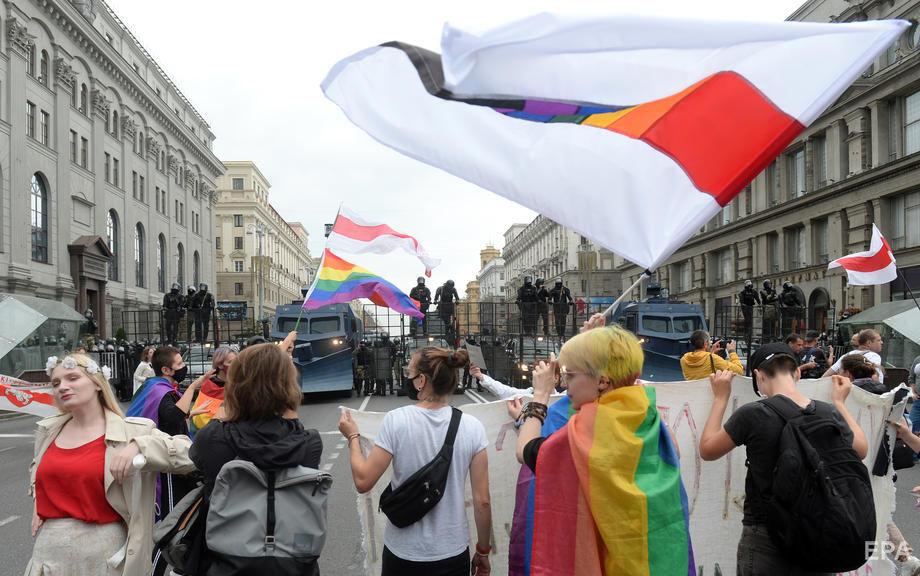 В Минске прошел многотысячный Марш единства. Фоторепортаж / ГОРДОН