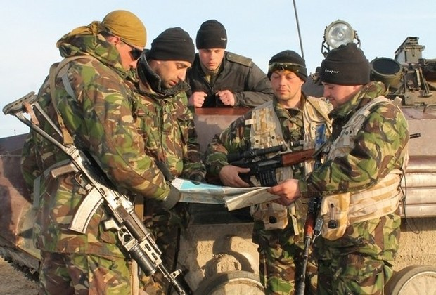 Ejército ucraniano fortaleció Perekop Istmo / Gordon