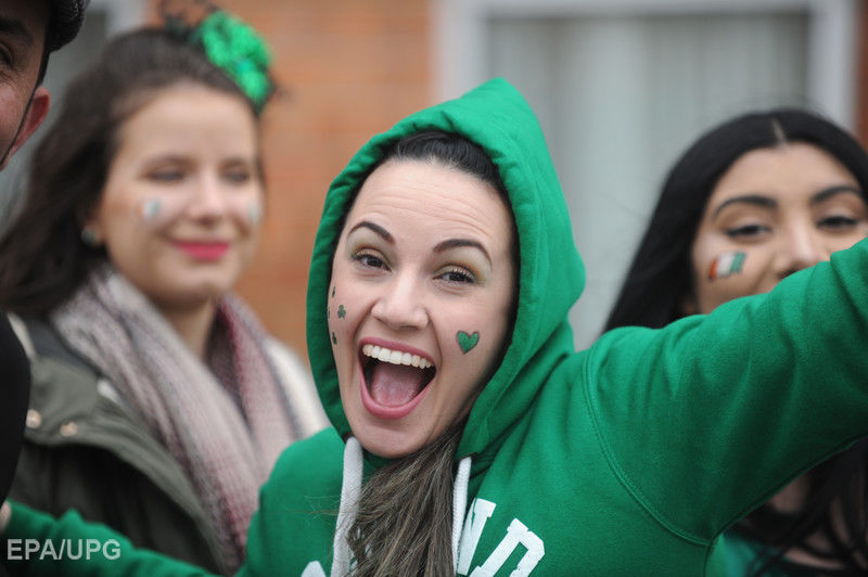 День святого Патрика Gallery: Ирландия отмечает День святого Патрика. Фоторепортаж / ГОРДОН