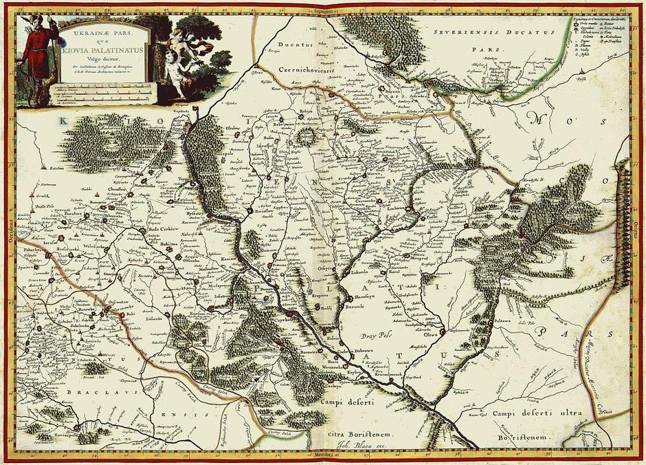 Границы Украины от средних веков до наших дней