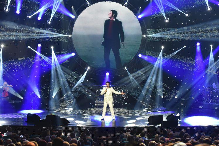 Поздравление певице с концертом