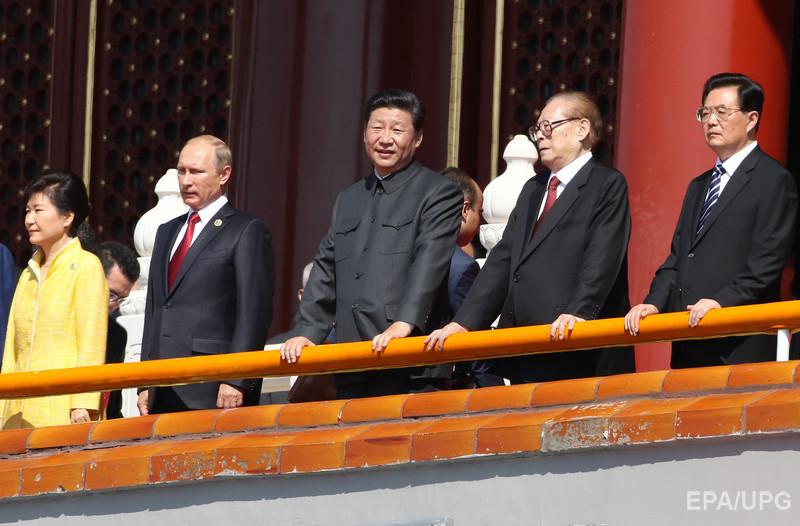 В Китае прошел парад в честь годовщины окончания Второй мировой войны. Фоторепортаж / Гордон