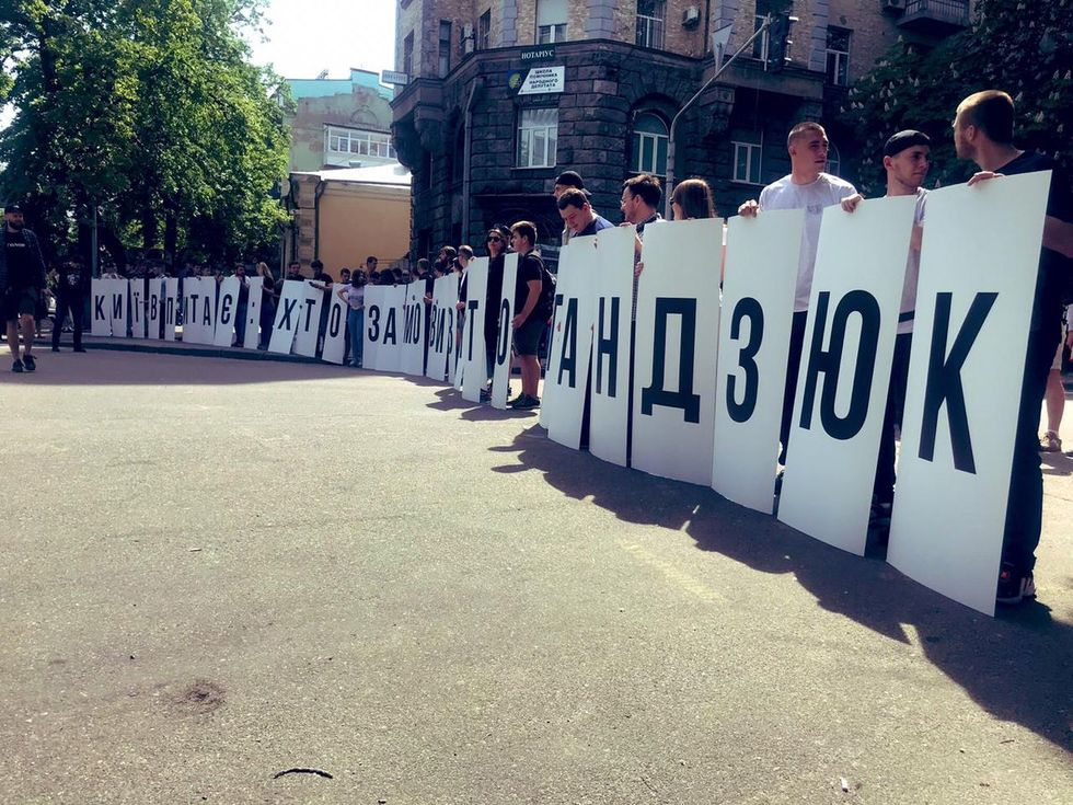 Киев. Фото: ЧЕСНО / Twitter