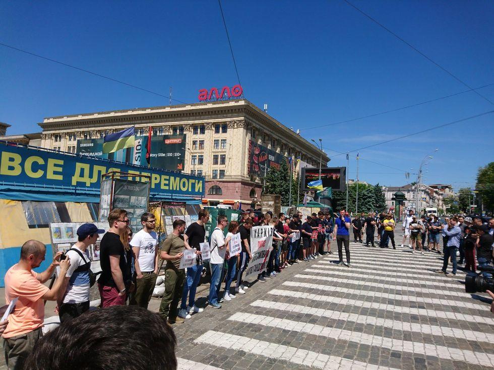 Харьков. Фото: Громадське Харків / Twitter