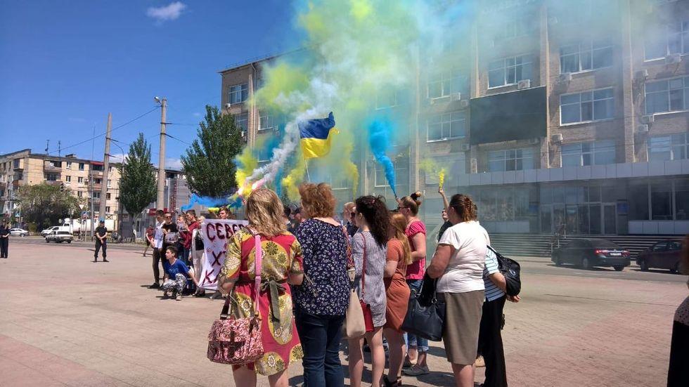 Северодонецк. Фото: ЧЕСНО / Twitter